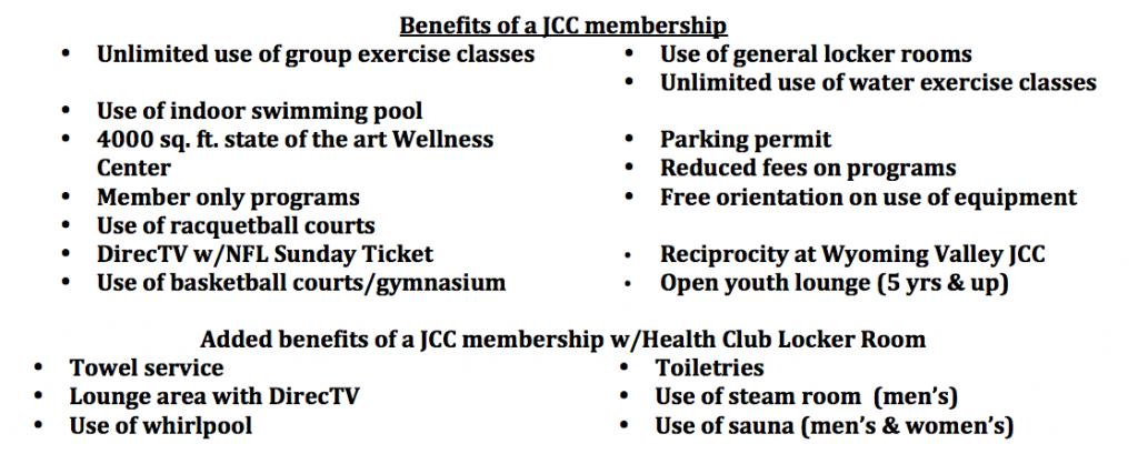 JCC Membership Information