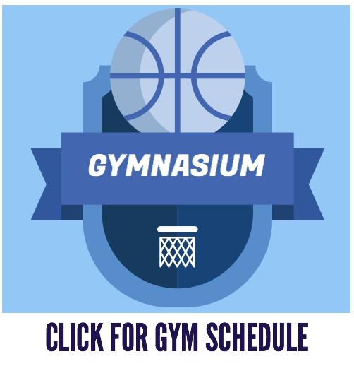 August Gymnasium Schedule